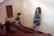 Лестница, по которой пришлось таскать вещи дважды