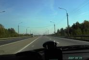Мурманское шоссе - выезд из города