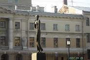 Ахматова на набережной Робеспьера