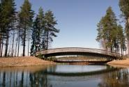 Замечательный мостик для прогулок