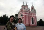 Милая Чесменская церковь