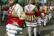 Праздник иберийской маски в Лиссабоне.Маски Кантабрии (Испания)
