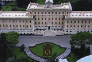 Дворец Папы, Ватикан. С купола Святого Петра