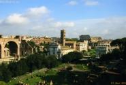 Форумы, вид с холма Палатин