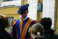 Швейцарские гвардейцы Папы римского. Автор костюмов - Микеланджело