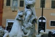 Пьяцца Навона, арена битвы трех архитекторов. Фонтаны Бернини