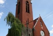 Кирха, теперь - православная церковь.