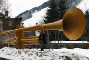 Вот такой забавный памятник трубе...)))))