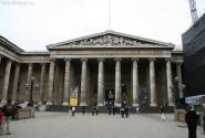 Фасад Британского музея