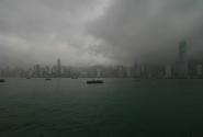Ну чем не Лондон ? Вид на Гонконг с набережной Коулуна.