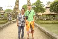 я и мой Балийский друг - таксист