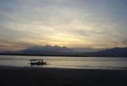 рассвет на острове Мено