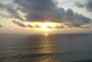закат на Нуса Дуа