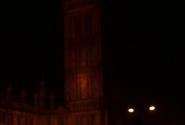 Биг Бен виден даже в темноте