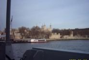Вид на Тауэр с корабля