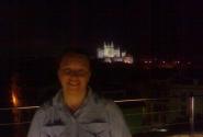 Ночной вид с городских стен на Кафедральный собор