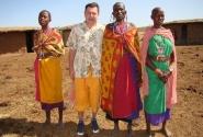 Женский хор из масайской деревни