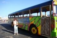 Туристический автобус (остров Аруба)