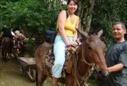 Я и лошадь (Доминикана, остров Гаити)