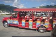 Экскурсионный автобус (Род-Таун, остров Тортола)