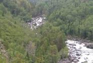 Впереди Чульчинский водопад.
