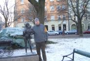 А вот кстати тоже в Стокгольме я и девочка