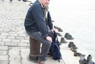 Но не всегда путешествовать весело. Одно из самых страшных мест, из тех, что я видел. набережная Дуная в Будапеште. Здесь расстреливали евреев. Очень страшное место.