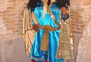 Шапур Первый, восковая фигура из музея истории остана Фарс в Ширазе