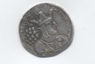 А вот и монета. Профиль Шапура.