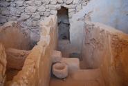 Туалет типа сортир образца первого века нашей эры.