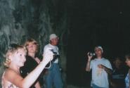 Штольня в Ширяево и туристы