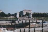 Подходим к набережной Волгограда
