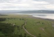 Вид на озеро со скалы Бабуин