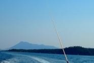 Мчась за лодкой