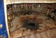 Место рождения Христа. Вифлиемская звезда. Храм Рождества в Вифлиеме.