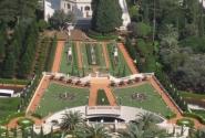 Бахайские сады в Хайфе.
