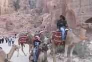 Бедуины в Петре.