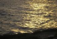 море вечером...