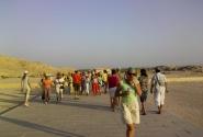 Туристы пеструю толпой, по Египтянии кочуют....
