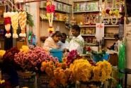 семья торговца цветами