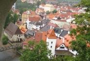 Городок на блюдце Чешский Крумлов