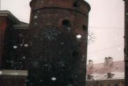 Башня в новогоднем