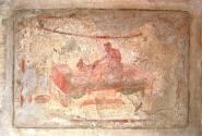 Одна из фресок Лупанария