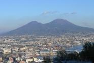 Вид на Неаполь от монастыря Сен Мартин