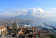 Вид на Неаполь с замка Сант Эльмо