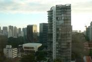 вид из окна отеля.