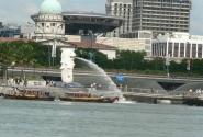 Мерлион - символ Сингапура.