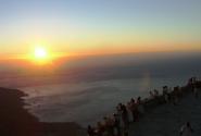 закат на Столовой Горе (туристы в ассортименте)