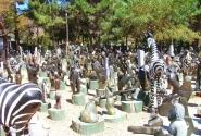 рынок каменных фигур