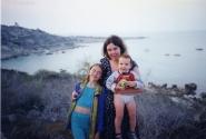 А это Коннос-Бей на Кипре, где мы и отдыхали 45 дней кряду.Даже надоело.